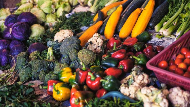 Lagerräume für Obst und Gemüse