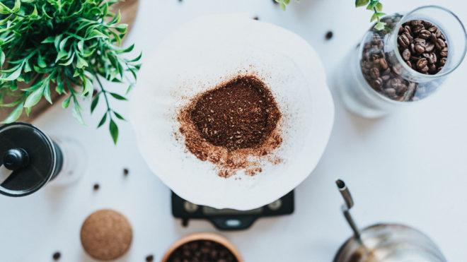 Kaffeesatz wiederverwenden
